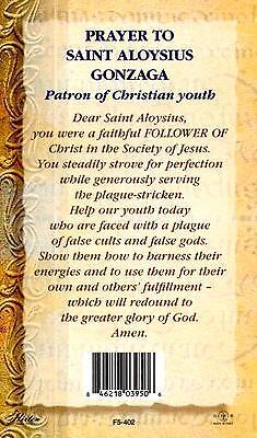 Saint St Aloysius Gonzaga Biography Prayer Feast Day