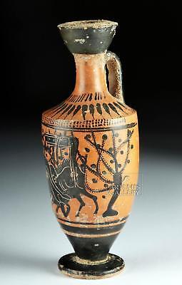 Greek Attic Black-Figure Lekythos - Haimon Group Lot 18