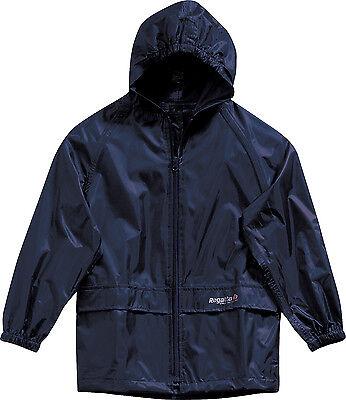 Kids Regatta Children Stormbreak  Waterproof Jacket Boys Girls Childs Rain Coat 2
