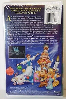 Beauty And The Beast Christmas.New Sealed 1997 Disney Beauty And The Beast Christmas Vhs Tape Video Kids Movie