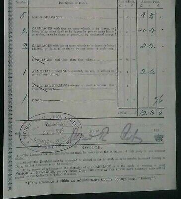 Victorian Inland Revenue Invoice ******(See Description For Details)****** 4
