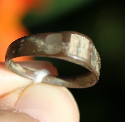Bronze medieval ring, from Pakistan, size 9 4