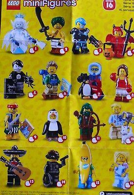 Lego SERIE 16 L/'HOMME PINGOUIN PERSONNAGE Minifigure 71013 Lot NEW