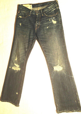 Abercrombie & Fitch Jeans BAXTER Indigo Destroy W28 L30 RRP $279 Mens or Boys 5