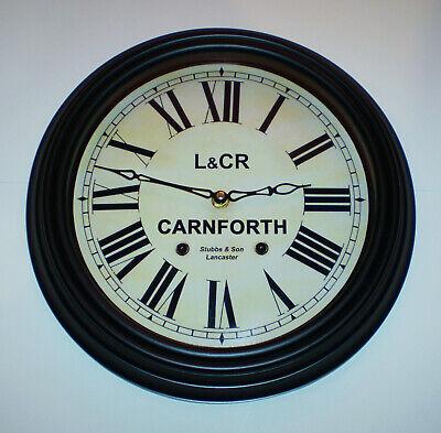 Lancaster and Carlisle Railway Styled Waiting Room Clock, Carnforth Station 4