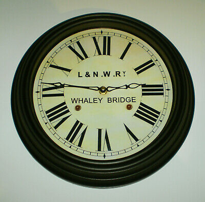 London & North Western Railway Victorian Style Clock, Whaley Bridge Station 2