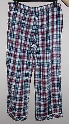 NWT Victoria's Secret Multi-Color Cotton Blend Pajama Pants sz XL 3