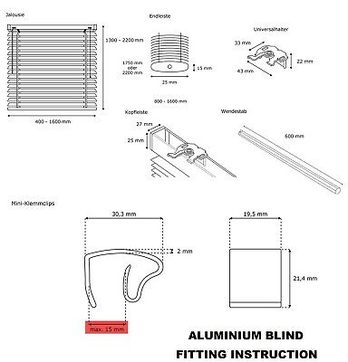 Pvc Venetian Window Blind Blinds In Black Cream White Silver Teak And Natural 2
