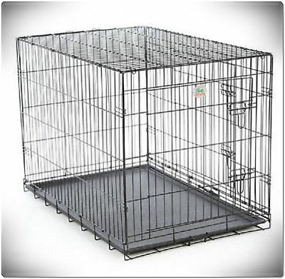 XXL Large Dog Crate Kennel Extra Huge Folding Pet Wire Cage Giant Breed Size 12