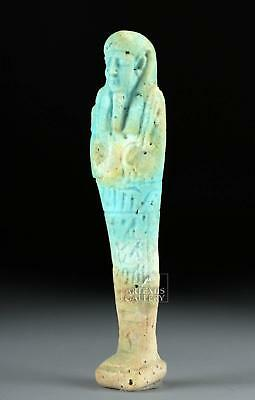 Egyptian Late Dynastic Period Faience Ushabti Lot 8