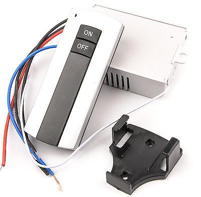 Interruptor Inalambrico Luces 2 Canales 220V  Mando A Distancia  Receptor 4522 3