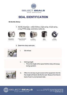 South Pump Seal CDLF2-220 Mechanical Seal - 12 mm Grundfos Multi stage 2