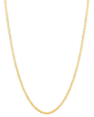 "14kt Solid Yellow Gold Mariner Link Pendant Chain Necklace 1.7 mm 20"" 2.2 grams 2"