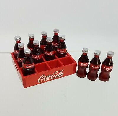 Coles Little Shop Mini Collectables - Coke bottles & crate 3