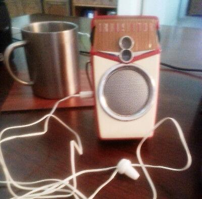 "Best Deal~2 ""Brand NEW"" Grandad's Circa 60's transistor radio mono earphones. 3"