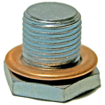 FIAT DUCATO 230 2.8D Sump Plug 97 to 02 Oil Drain Corteco 16993411 Quality New