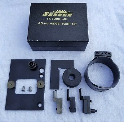 "2.625/"" - 3.375/"" Sunnen AG-340 Extra Large Point Set for AG-300 AG 400  Gauges"