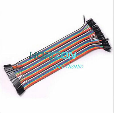 40/120PCS  20cm Dupont Wire Male to Male + Male to Female + Female to Female 2