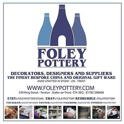 FFG Chelsea FC Stamford Bridge inspired  bone China Bauble By Foley Pottery