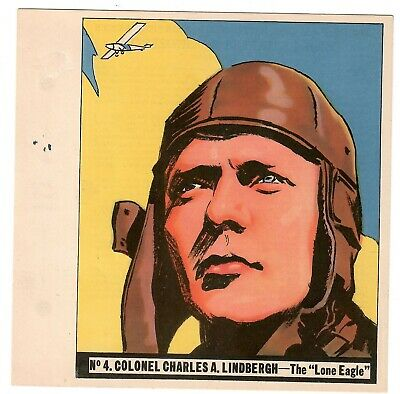 1936 Goudey History Of Aviation Complete 10 Card Set Unpunched 4