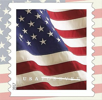 20 Forever Stamps US Postage American Old Glory Flag USPS Booklet Stars  Stripes 4