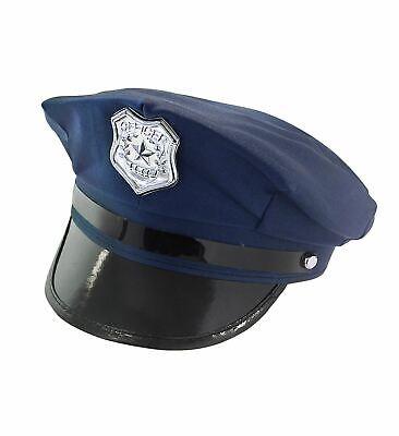 POLIZEI HUT Karneval JGA Party Fest Polizisten Kostüm Kopfbedeckung Mütze 01098