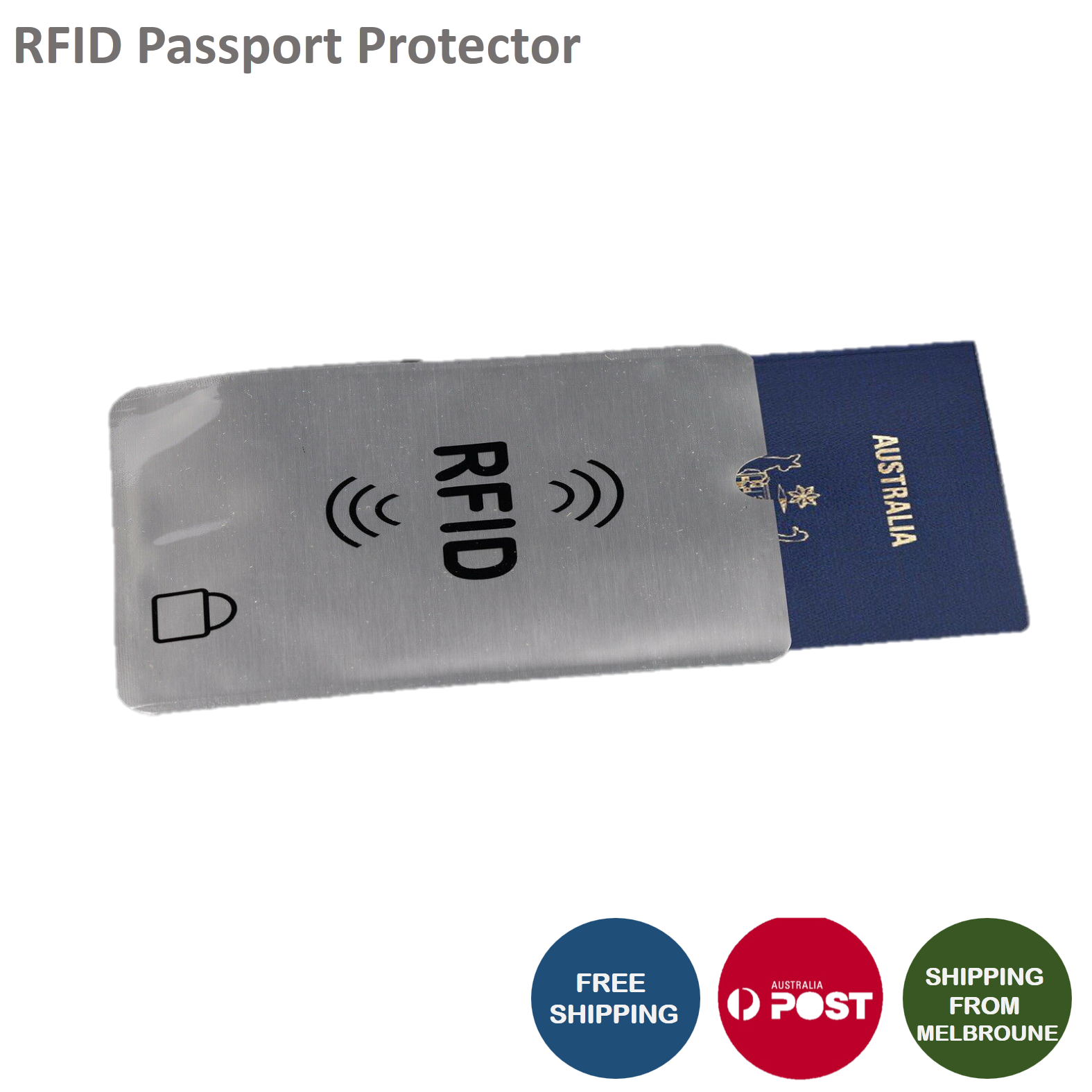 RFID Blocking Sleeve Secure Credit Card ID Protector Anti Scan Safet AU 3