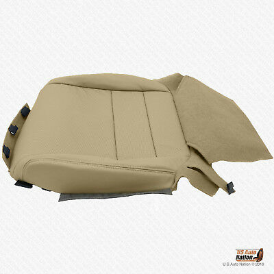 Fit 2008 Acura TL Front Driver Bottom Replacement Cover Perforated Leather Black