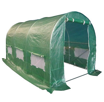 FoxHunter Fully Galvanised Frame Polytunnel Greenhouse Pollytunnel Poly Tunnel 9