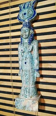 Egyptian Isis Statue Goddess Figurine Ancient Egypt Sculpture 10