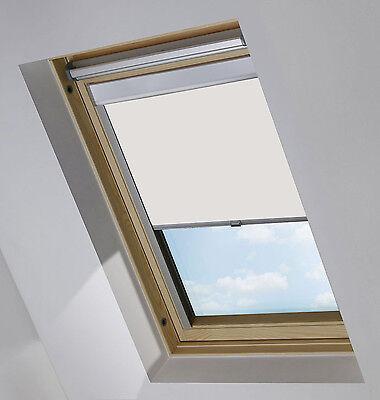 verdunkelungsrollo passend f r velux dachfenster thermorollo verdunkelung rollo eur 25 99. Black Bedroom Furniture Sets. Home Design Ideas