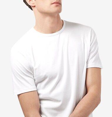 Men's Plain Blank T-shirt Basic Tee White Black Grey sizes XS - XXXL New Bulk 5