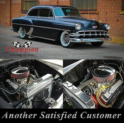 1953 1954 Chevrolet Two-Ten Series 4 Row Core Champion Aluminum WR Radiator