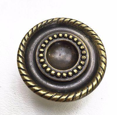 Bronze antique hardware Mid Century Modern drawer pull cabinet knob vintage 2