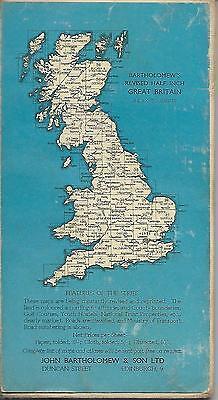 Vintage 1950s Bartholomews Wharfedale Cloth Map 2