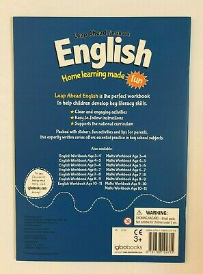 KS2 Maths & English Leap Ahead Home Learning Workbooks Set Ages 9-10 New Year 5 3