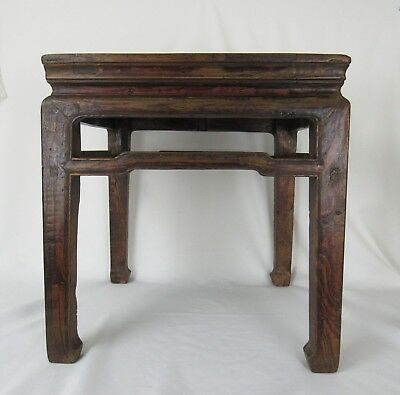 A pair of Chinese Antique Cafe Table /Stool Ming Dynasty Style 2