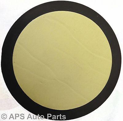 Pair Of Orange Amber Round Adhesive Circle Reflectors Truck Van Bike Car Fence 3