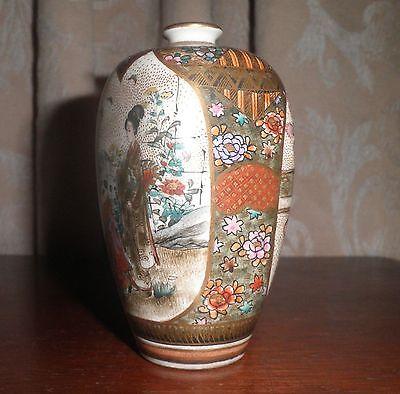 RARE STUNNING ANTIQUE JAPANESE SATSUMA MEJI PERIOD c. 1800's VASE 7