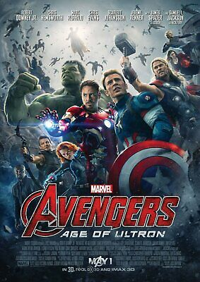 AVENGERS: Endgame, Infinity War, Assemble, Age of Ultron  A5 A4 A3 Movie Posters 3