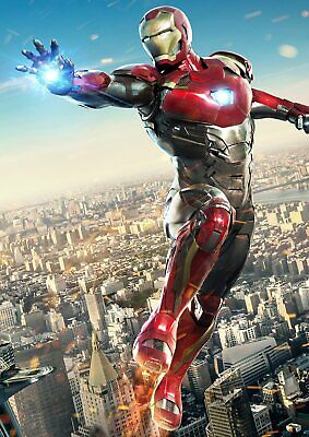 Marvel Spiderman Homecoming: Vulture, Iron man  A5 A4 A3 Textless Movie Posters 6