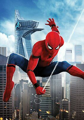 Marvel Spiderman Homecoming: Vulture, Iron man  A5 A4 A3 Textless Movie Posters 4