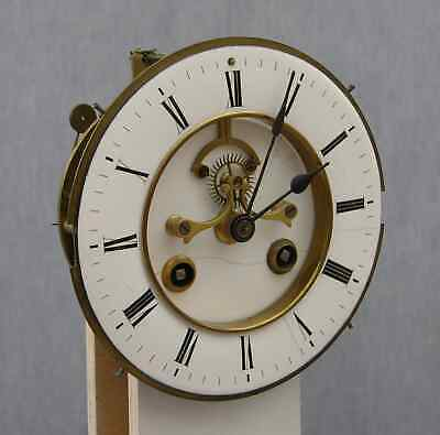 Huge 1869 Victorian Clock, 14-day Marti Movement, Visible Brocot Escapement 10