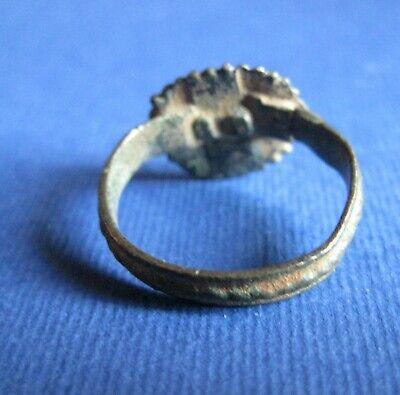 Byzantine   Bronze    Finger    Ring 3