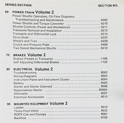 CASE 580C BACKHOE Loader Service Manual Repair Shop Book ...  C Case Backhoe Wiring Diagram on