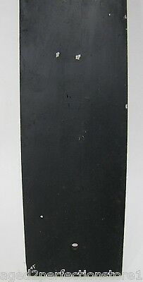 Antique Bevel Edge Glass Door Push Plate 'PUSH' sign old architectural hardware 12