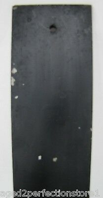Antique Bevel Edge Glass Door Push Plate 'PUSH' sign old architectural hardware 11