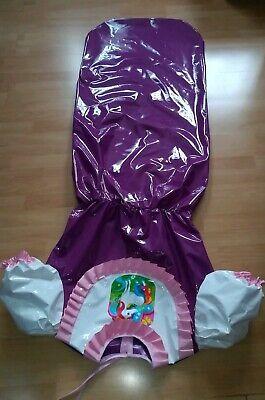 Adult Baby Schlafsack HOCHGLANZ LACK PLASTIK PVC GUMMI STRAFSACK SLEEPINGBAG 3