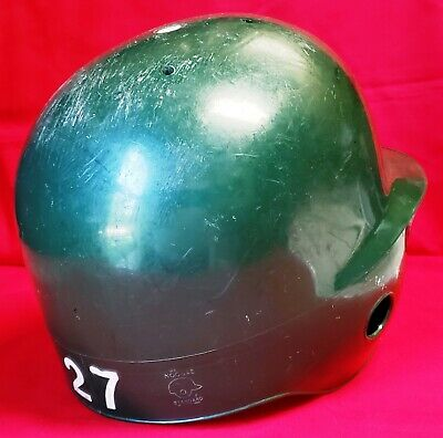 BUFFALO BISONS (Cleveland Indians) 1980's-1990's Game Used Batting Helmet by ABC 6