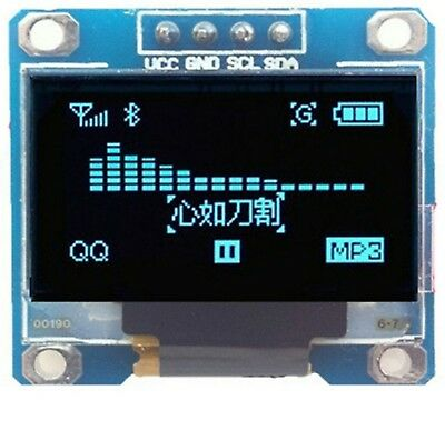 OLED Display 128X64 OLED LCD LED Display Module For Arduino I2C IIC SPI Serial 5